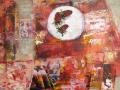 Тарелка с клубникой, 2010 год, 70х55 см.
