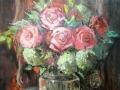 Розы, 2016 год,  60х40 см.
