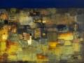 Ночь в каменных джунглях, 2018 год, холст, масло, 95х120 см.