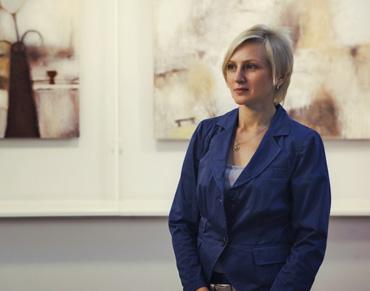 Светлана Сажина, владелец галереи